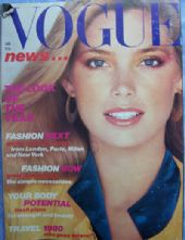 Vogue Magazine - 1980 - January